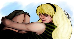 Gwen Stacy Colour Test by Roberto-210296