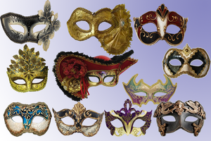 Venitian.masks by Parvati1980