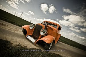 1932 Blown Ford Coupe I by AmericanMuscle