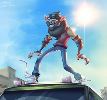 TeenWolf Van Surfing by Javas