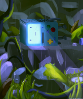 Finding BMO by MasterCheefs