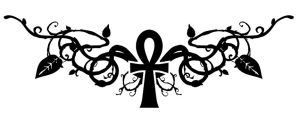 Vine Ankh Tatty by Violhaine