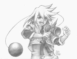 Tales of Symphonia: Genis Sage by lazy-perfs