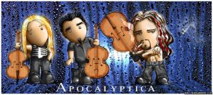 Apocalyptica Cartoon by Nelhemyah