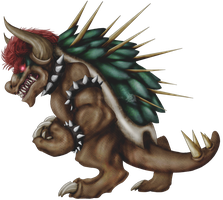 Giga Bowser by LycanthropeHeart