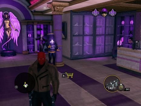 Red Hood in Saint's Row by WardenoftheIronLegio