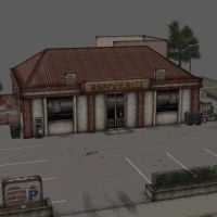 [Silent Hill 2] Happy Burger Building by shprops4xnalara