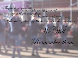 We will remember them by PsychicHexo