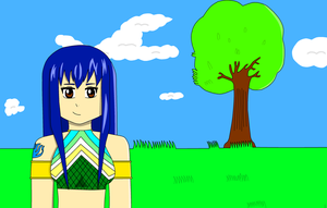 wendy marvell in the meadow by supersonicwind69