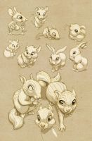 Cute Rodents by JoniGodoy