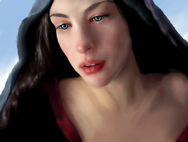 Arwen by angelacypher