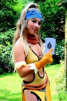 Rikku Lady Luck Cosplay again by Vanne