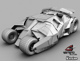 batman's tumbler by kardam