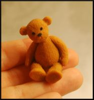 Teddy bear by MiniatureChef