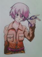 Yuno Self Haircut by ShuffledYandere