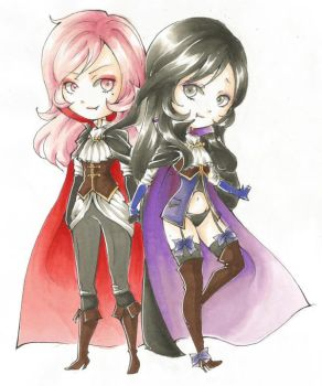 Cute Vamps by SweetPoison-Bunny