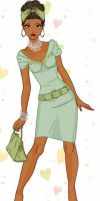 Disney Fashionistas: Tiana by keb17