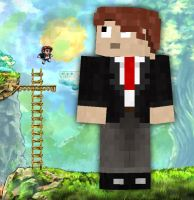 Tim from Braid in Minecraft by TheNose90