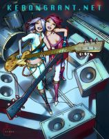 Guitar Hero by Kerong