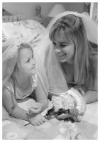 Mother and Daughter portrait 3 by LaurenBabe23