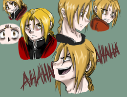 Edward Doodles by AlleyCatUmbz