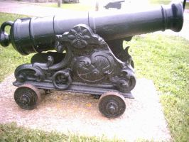 A Rather Fancy Cannon by specialoftheweek