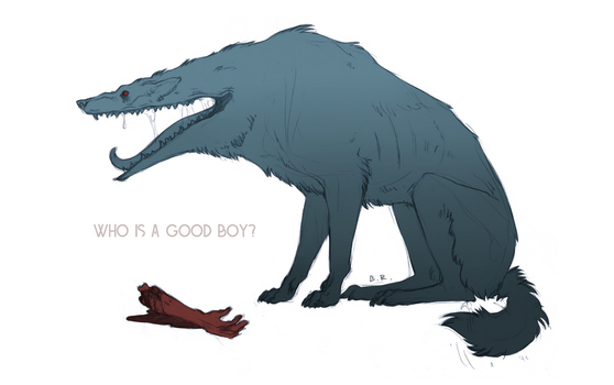 Who's the good boy? by BessReed