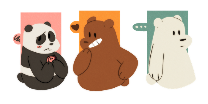 We Bare Bears by Kowskie
