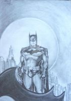 Batman by Madam-Pierrot
