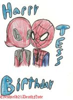 Happy Birthday~ with love from spideypool by ThePastelHobbit