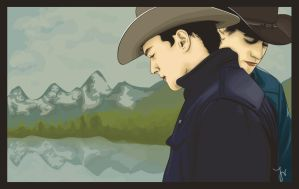 Brokeback Mountain by LillemorGull