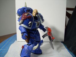 warhammer 40k custom veteran 2 by soulbrother73