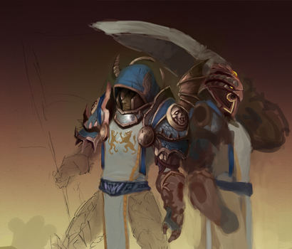 WoW Guildmasters WIP by Oinari-Hime