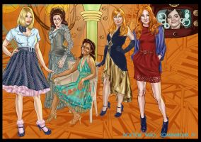 Doctor Who Companions IV by ShawnVanBriesen