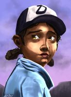 Clem Portrait by JonGon