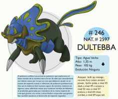 Pokemon Oryu 246 Dultebba by shinyscyther