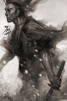 Samurai Spirit 7 by Artgerm