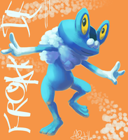 FROAKIE OR BUST by Phycofox