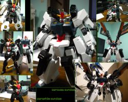 GN-008 Seravee Gundam by VirgoT