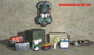 Unused DNF Items by Wesker500