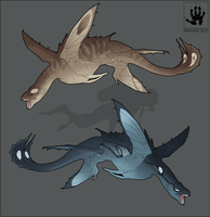 Sea Swifts by DemonML