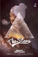 The Stars Poster by DusskDeejay