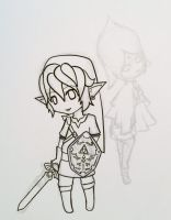 SS Link and Fi WIP by Ask-Ghirahim