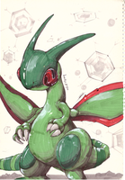 Flygon by LuckyPupa