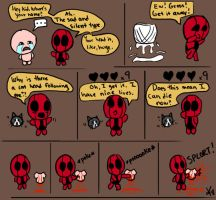 Binding Of Deadpool sketchies by TheButterfly