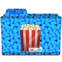 3D Movies Folder Icon by gterritory