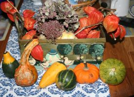 my lovely autumn decoration for table by ingeline-art