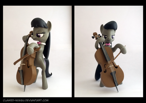 Octavia 3D-Printed Figure by Clawed-Nyasu