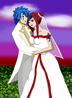Jerza - Sunset Wedding by Rhov