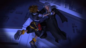 Xemnas wants to kill Sora by LexaKiness